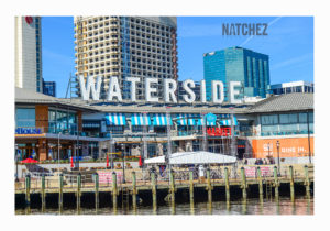 commercial window tinting jobs, building window tinting, decorative window film waterside live waterside district 2 white border