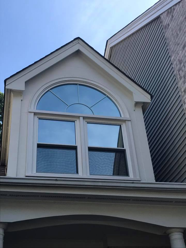 residential window tinting, foyer window tinting, bay window tinting