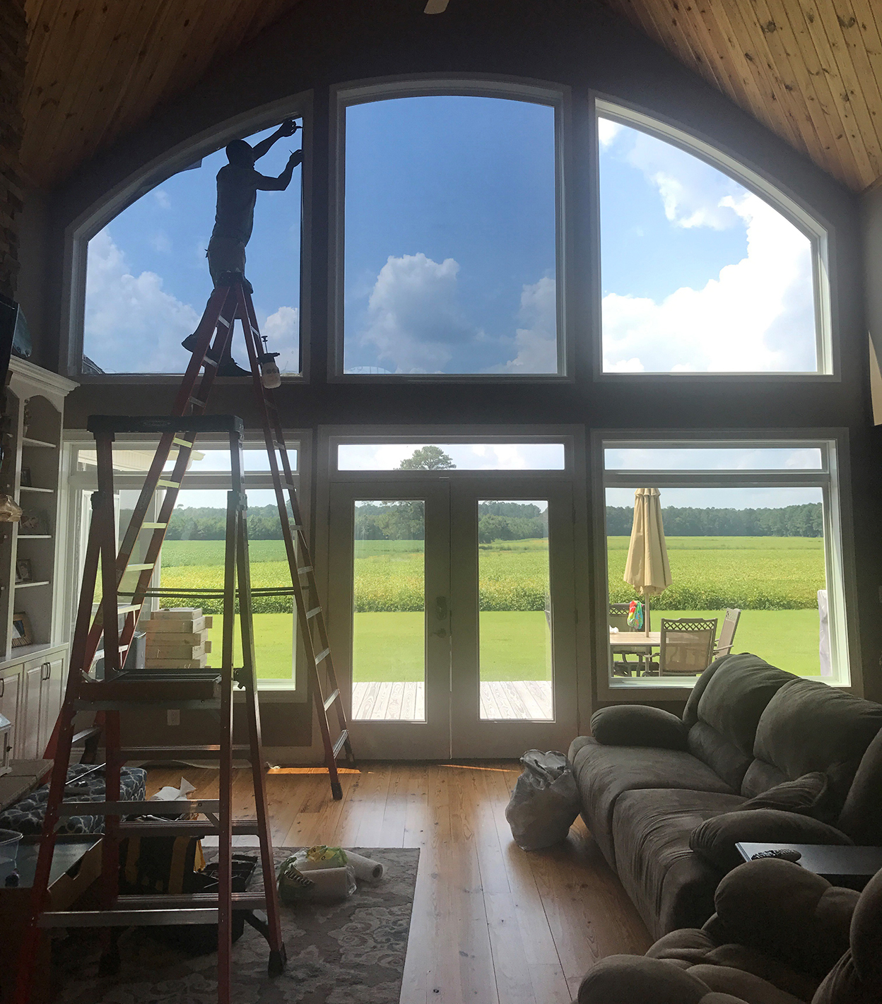 Residential Window Tinting Pics Home Window Tinting Pics