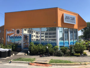 commercial window tinting, java surf cafe