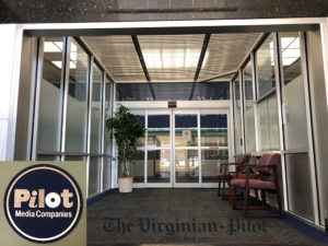 the virginia pilot, security film, commercial window tinting, commonwealth window tinting